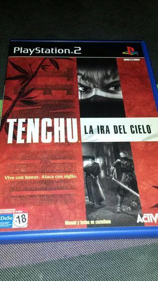 Tenchu La ira del cielo ps2