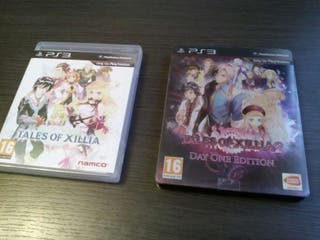 Tales of Xilia 1 y 2 PS3