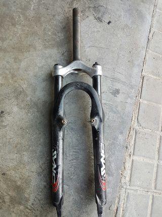 Horquilla suspension bici