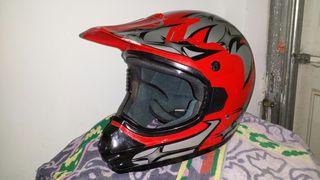 Casco motocross mx