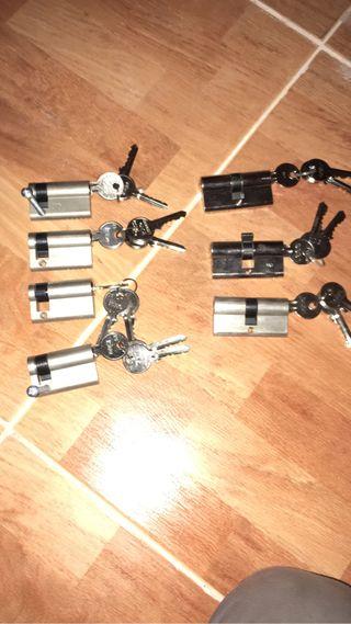 Bombines con tres llaves