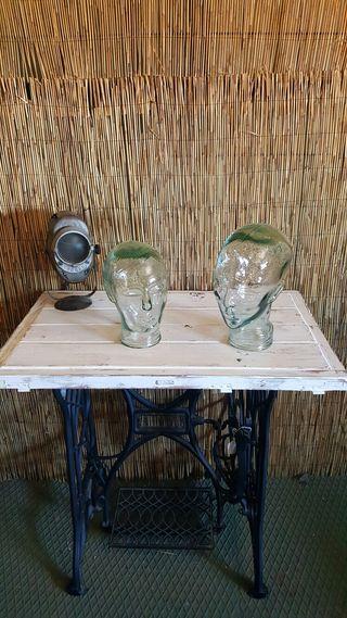 Cabezas de cristal