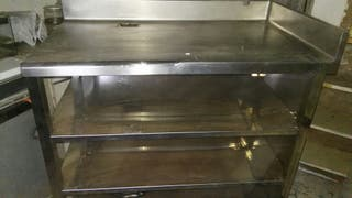 Mueble de cafetera industrial