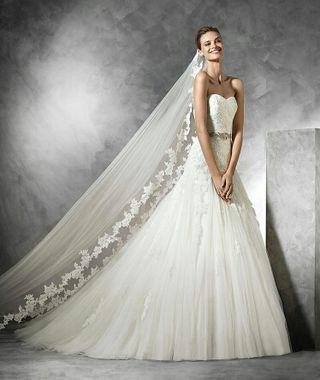 vestido de novia pronovias de segunda mano en vigo en wallapop
