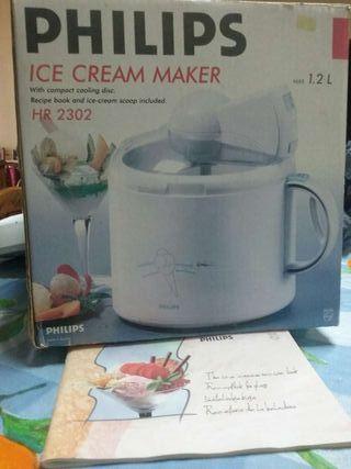 Máquina de hacer helados