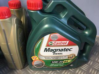 Aceite castrol 10w-40 magnatec