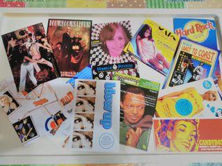 Postales y flyers de Londres