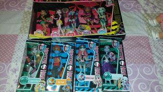 Muñecas monster high edición playa.