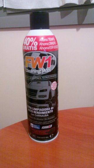 Cera para limpieza en seco FW1 !!!