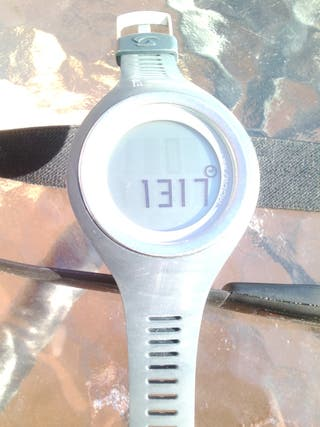 Reloj Sigma -Pulsómetro, calorías, etc- + Cinturón Digital para Deporte