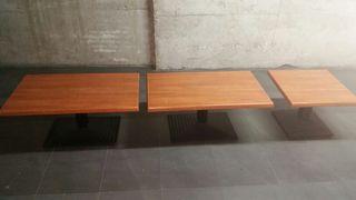 Mesa baja exterior i interior