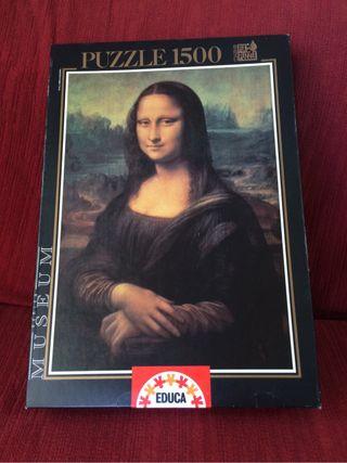 Puzzle Monalisa/Gioconda 1500 piezas