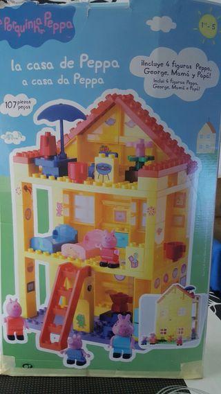 Casa piezas Peppa Pig