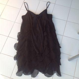 Vestido Negro Naf Naf 38