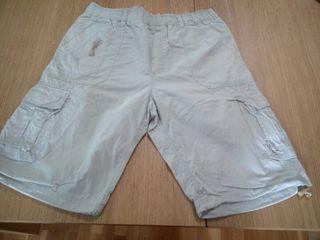 Pantalon corto color beige