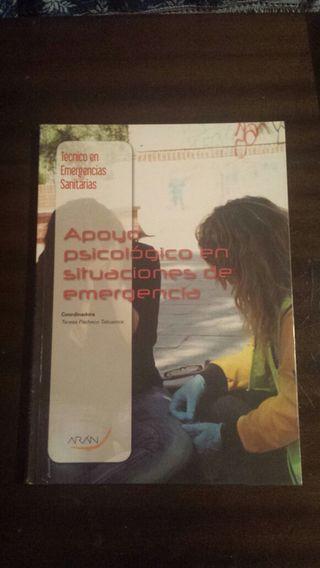 Se vende libro del ciclo formativo de Emergencias sanitarias