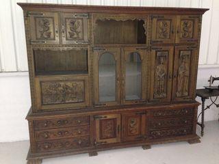 Mueble antiguo de segunda mano por en valencia en wallapop - Muebles antiguos valencia ...