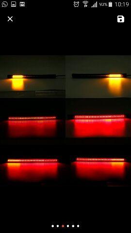 Luz de freno con intermitentes