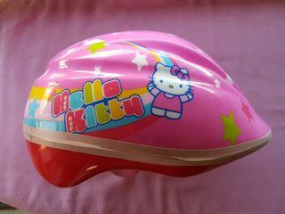Casco Niña Hello Kitty