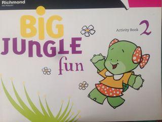 Big jungle fun 2 activity book