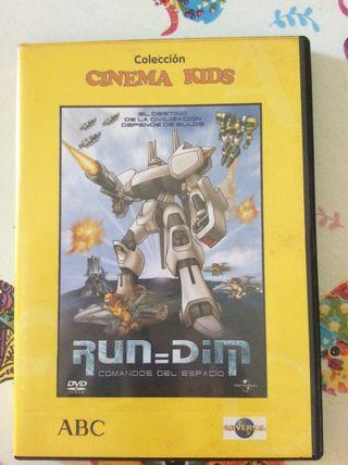 RUN DIM,Comandos del Espacio Dvd