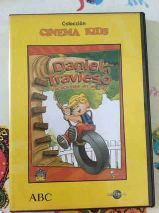 Daniel el Travieso Vacaciones en el Mar DVD