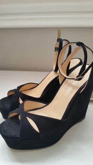 GLORIA ORTIZ zapatos sandalias t.36 cómo nuevas!!