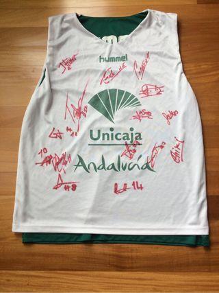 Camiseta entreno baloncesto unicaja