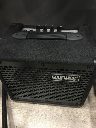 Ampli de bajo warwick BC10