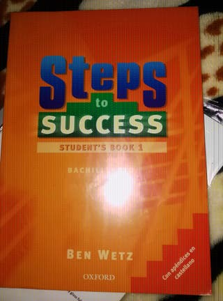 Steps to success student's book y worbook 1°bachillerato