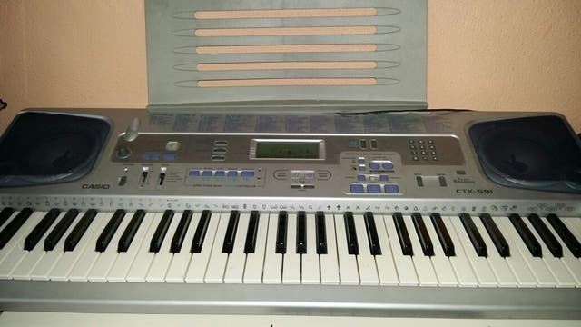 organo Teclado casio ctk-591
