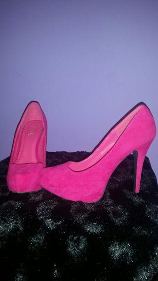 Zapato Rosa 38