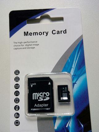 Tarjeta microsd sd micro sd adaptador 32gb gb