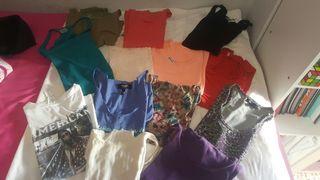 Pack de 11 camisetas de tirantes