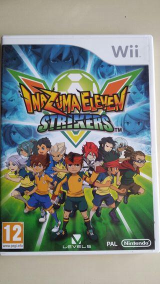 Juego Wii Inazuma Eleven Strikers
