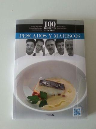 Libro de cocina; 100 maneras de cocinar pescados y