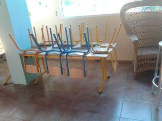 Mesa sillas colegio o guarderia