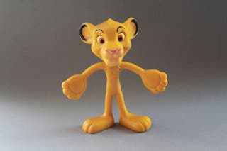 Figura Disney PVC flexible Simba