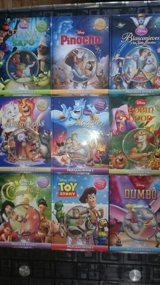 Colecci n libro dvd disney de segunda mano por 70 en torrej n de ardoz en wallapop - Libreria torrejon de ardoz ...