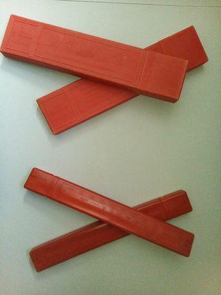 2 juegos triangulos homologados