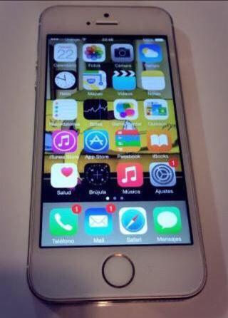 iPhone 5 S oro 16 fb