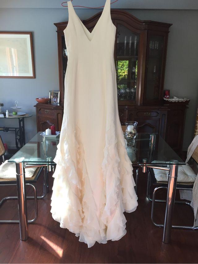 vestido de novia de victorio y lucchino de segunda mano por 300 € en