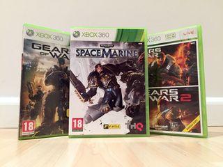 Gears of War + Space Marine
