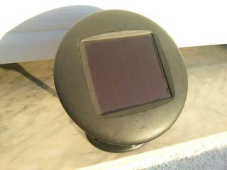 Placa solar orientable