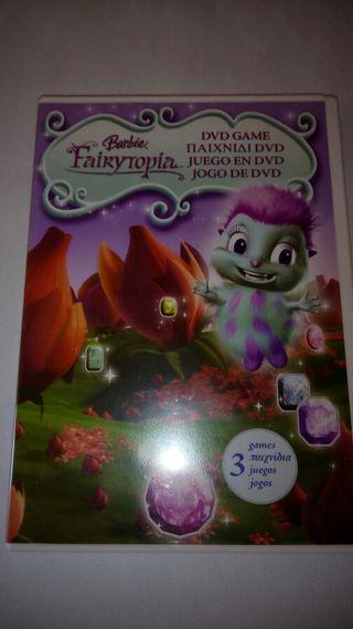 Barbie Fairytopia DVD Juego