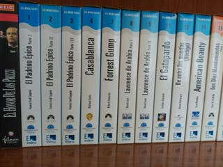 Colección de cintas VHS