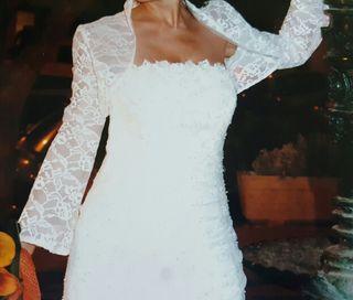 Vestido de novia San Patrick.