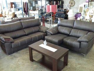 Sofas 3+2 reclinable y extrahible nuevos de fabrica