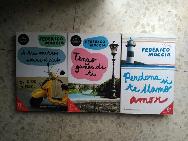 Pack 3 libros Federico Moccia