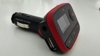 USB a fm adaptador radio coche